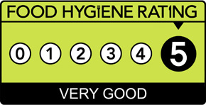 The Fish Inn has a food hygiene rating of 5 - Very Good